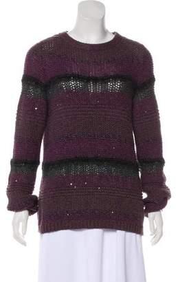 Brunello Cucinelli Sequin Cashmere Sweater