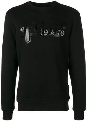 Philipp Plein logo sweater
