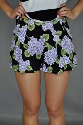MinkPink Bloom Printed Shorts