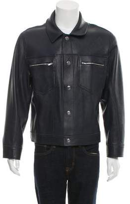 Alexander Wang Leather Reversible Jacket w/ Tags