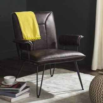 Safavieh Johannes Bicast Leather Armchair, Multiple Colors