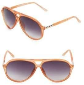 9090f239b286 Linda Farrow Luxe Matthew Williamson x Linda Farrow 63MM Aviator Sunglasses