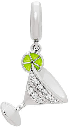 Proenza Schouler FINE JEWELRY Personal Style White Cubic Zirconia Sterling Silver Charm