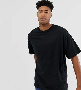 Asos Design DESIGN Tall oversized t-shirt with crew neck in black