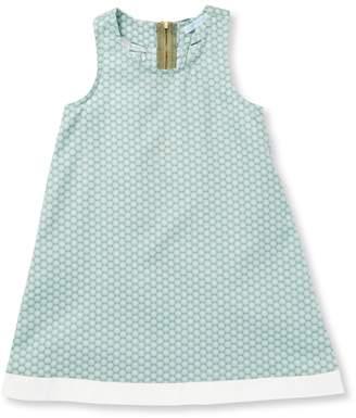 Elephantito Circles Ruffle Cotton Dress