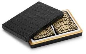 Two Decks Crocodile Playing Cards with Box