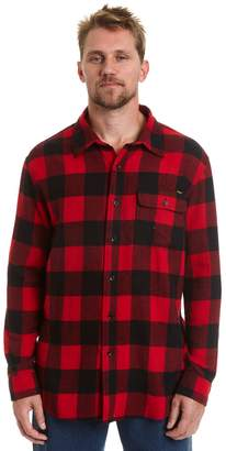 Stanley Big & Tall Classic-Fit Plaid Flannel Button-Down Shirt