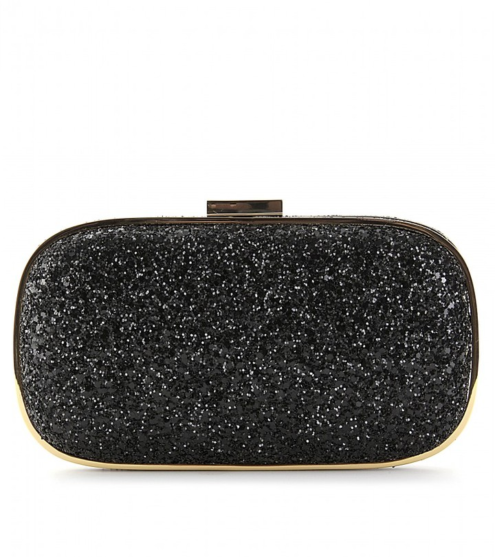 Anya Hindmarch MARANO GLITTER BOX CLUTCH