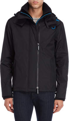 Superdry Tech Hood Pop Zip Windcheater Jacket