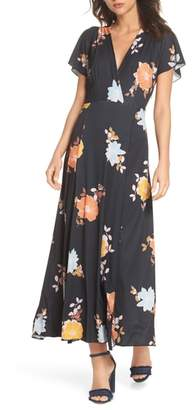 French Connection Shikoku Jersey Maxi Dress