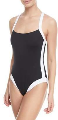 LaBlanca La Blanca Modern Underwire X-Back One-Piece Swimsuit
