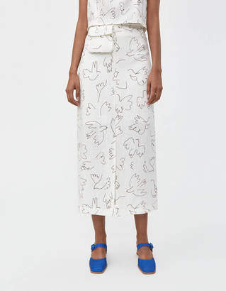 Paloma Wool Genia Linen Skirt