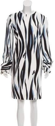 Victoria Beckham Victoria Long Sleeve Mini Dress w/ Tags