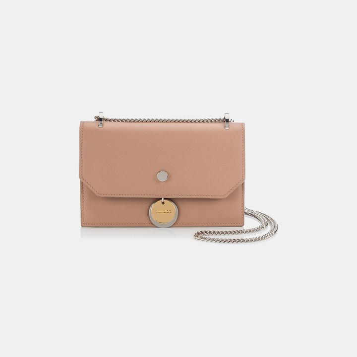 Jimmy ChooFinley Nappa Leather Crossbody Mini Bag