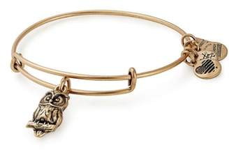 Alex and Ani Charity by Design Owl Charm Bracelet