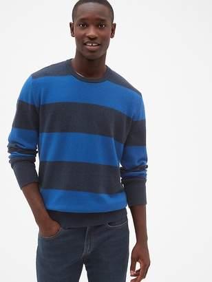 Gap Cozy Classic Rugby Stripe Sweater