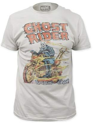 Impact Ghost Rider Marvel Comics Hell On Wheels Adult Fitted Jersey T-Shirt Tee