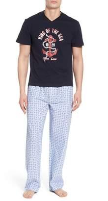 Majestic International All Hands on Deck Pajama Set
