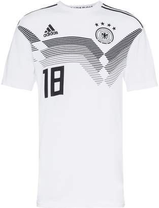 adidas DFB print football t shirt