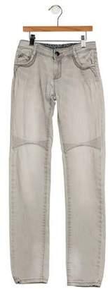 Catimini Girls' Embellished Jeans