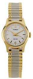 Timex Ladies Cavatina Watch with Two-tone Expansion Band $48 thestylecure.com