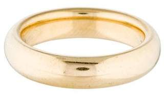 Tiffany & Co. 18K Wedding Band Ring $395 thestylecure.com