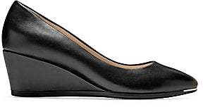 Cole Haan Women's Grand Ambition Leather Wedge Pump
