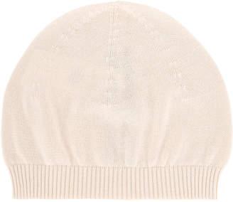 Rick Owens ribbed knit beanie hat