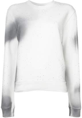 Off-White faded print sweatshirt