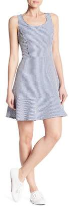 Vanity Room Gingham Plaid Print Shift Dress