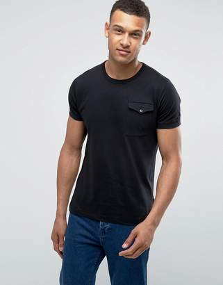 French Connection T-Shirt with Flap Pocket