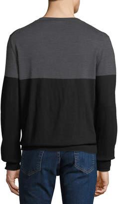Slate & Stone Men's Colorblock Crewneck Sweater