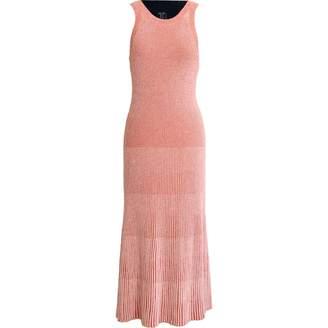 Cos Orange Cotton - elasthane Dress for Women