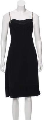 Dolce & Gabbana Wool & Silk-Blend Dress