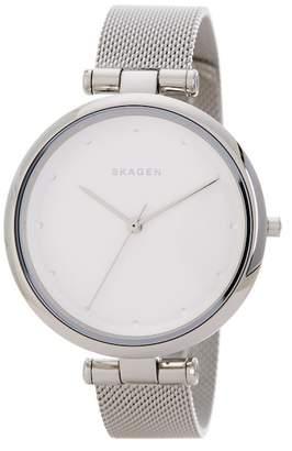 Skagen Women's Tanja Mesh Bracelet Watch, 38mm