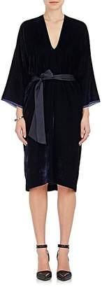 Nili Lotan Women's Rochelle Velvet Belted Tunic Dress