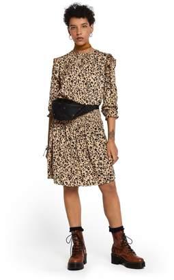 Scotch & Soda Silky Ruffle Dress