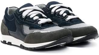 Lanvin Enfant TEEN panelled sneakers