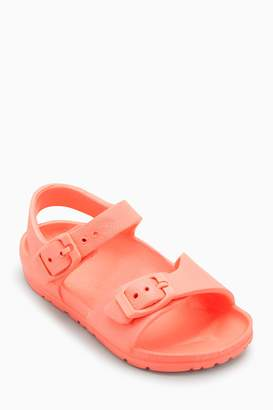 Next Girls Coral EVA Sandals (Younger)