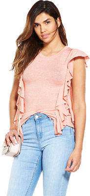 Very Frill Snit Top