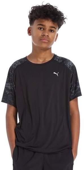 Printed Poly T-Shirt Junior
