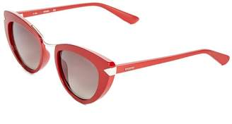 GUESS Cat Eye Sunglasses $78 thestylecure.com
