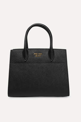 Prada Driade Textured-leather Tote - Black