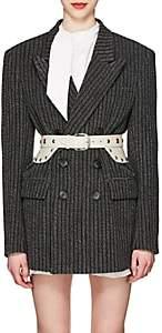 Isabel Marant Women's Jaxen Striped Wool-Blend Tweed Double-Breasted Blazer
