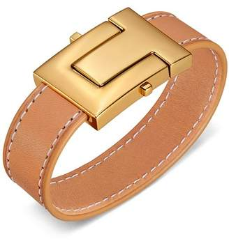 Tory Burch T-Lock Single Wrap Bracelet