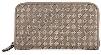 Bottega Veneta Snakeskin Continental Wallet
