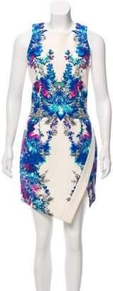 Nicholas Floral Print Knee-Length Dress