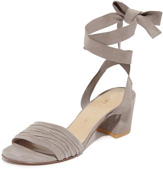 Stuart Weitzman Swifty City Sandals $398 thestylecure.com