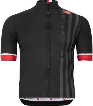 Castelli Podio Doppio Striped Prosecco GT Mesh Cycling Jersey