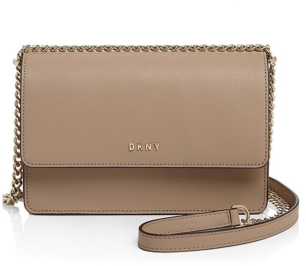 DKNY DKNY Small Bryant Park Chain Flap Crossbody